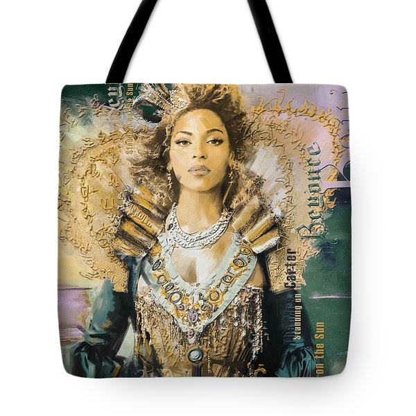 Mrs.Carter Show Poster - B Tote Bag by Corporate Art Task Force