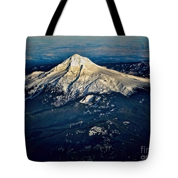 Mt Hood Tote Bag by Jon Burch Photography