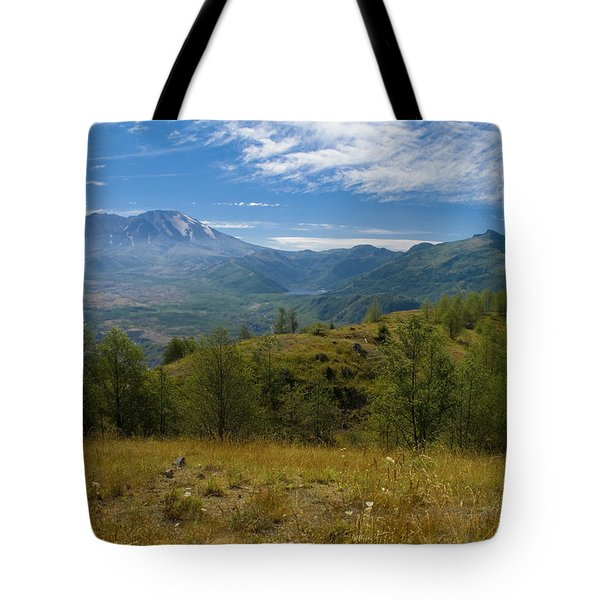 Mt St Helens I Tote Bag by Brian Harig