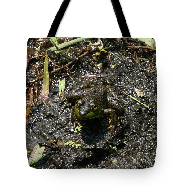 Mud Bath Tote Bag by Neal  Eslinger