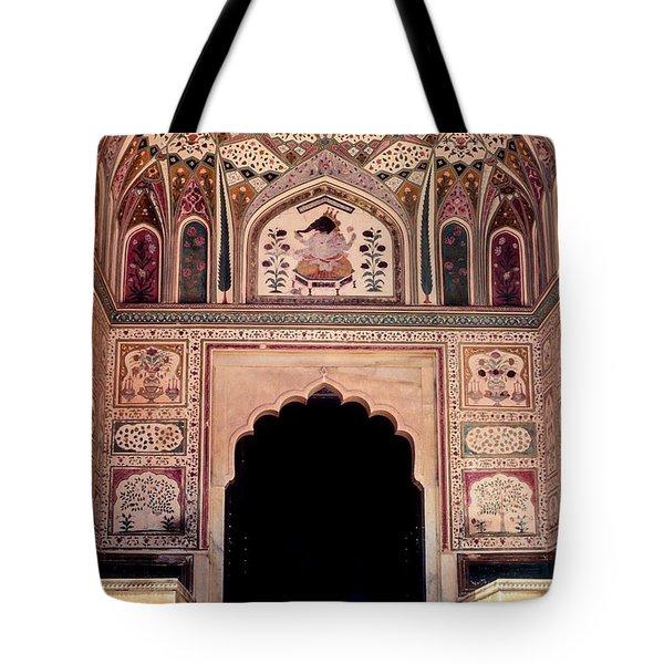 Mughal Art Tote Bag by Steve Harrington