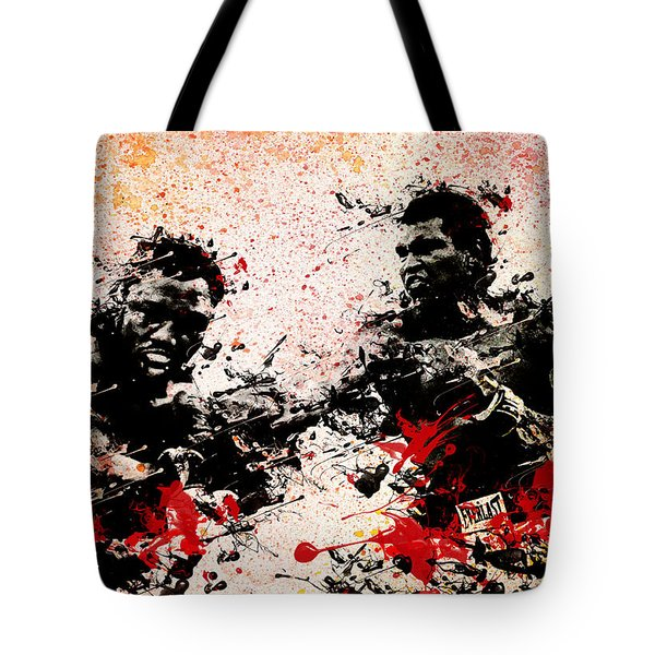 Muhammad Ali 2 Tote Bag by MB Art factory