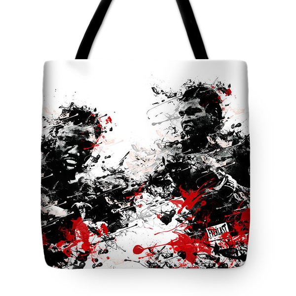 muhammad ali Tote Bag by MB Art factory
