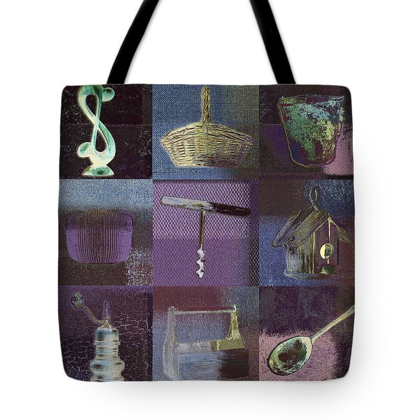Multi Home Decor - Bz01 Tote Bag by Variance Collections