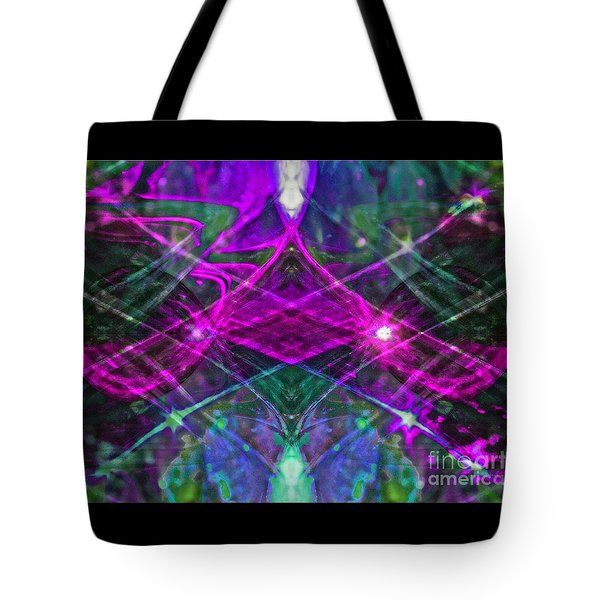 Multiplicity Universe 2 Tote Bag by Chris Anderson