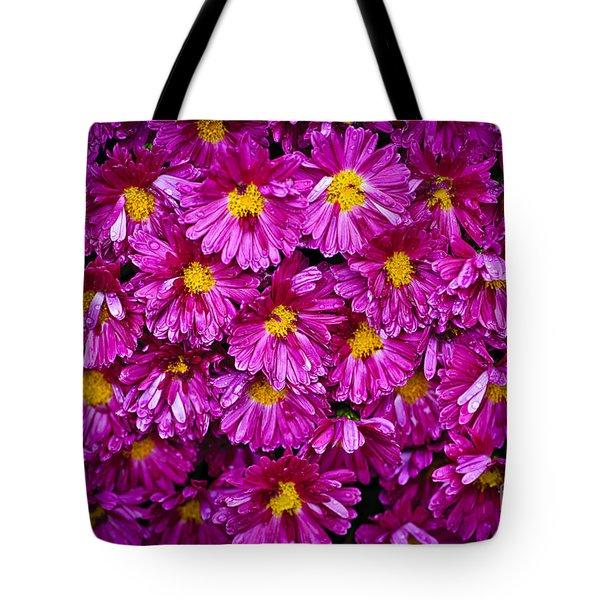 Mums Tote Bag by Elena Elisseeva