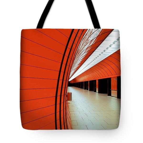 Munich Subway II Tote Bag by Hannes Cmarits