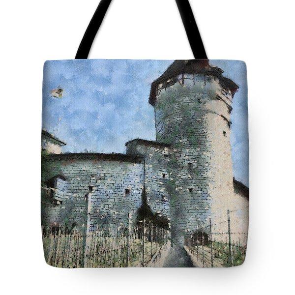 Munot Tote Bag by Ayse Deniz