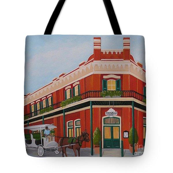 Muriels Tote Bag by Valerie Carpenter
