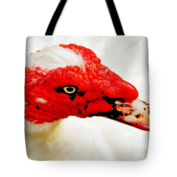 Muscovy Duck Tote Bag by Kaye Menner