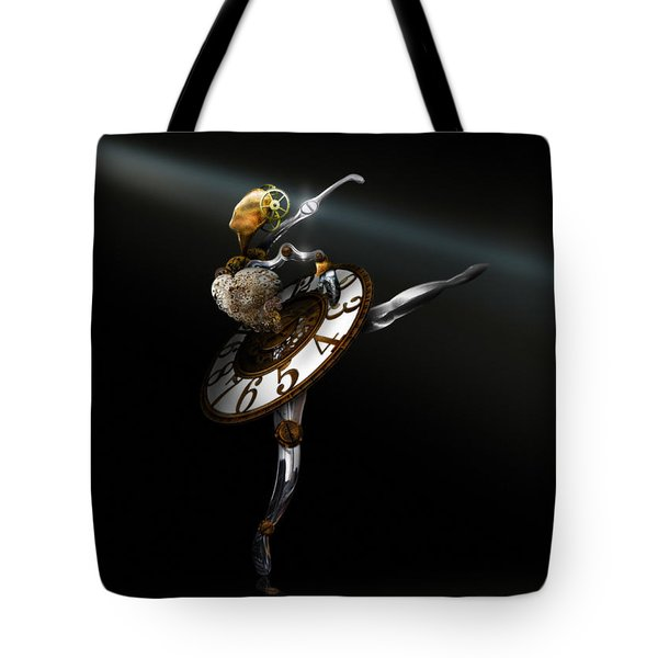 Music Box - The Dance of Hours Tote Bag by Alessandro Della Pietra