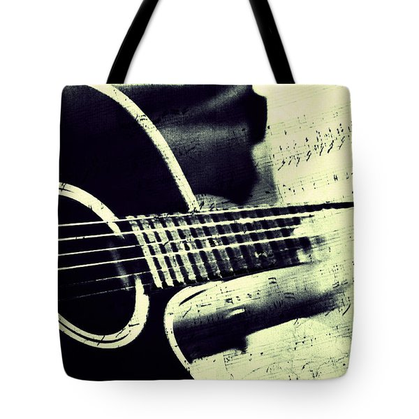 Music from the Heart II Tote Bag by Jenny Rainbow