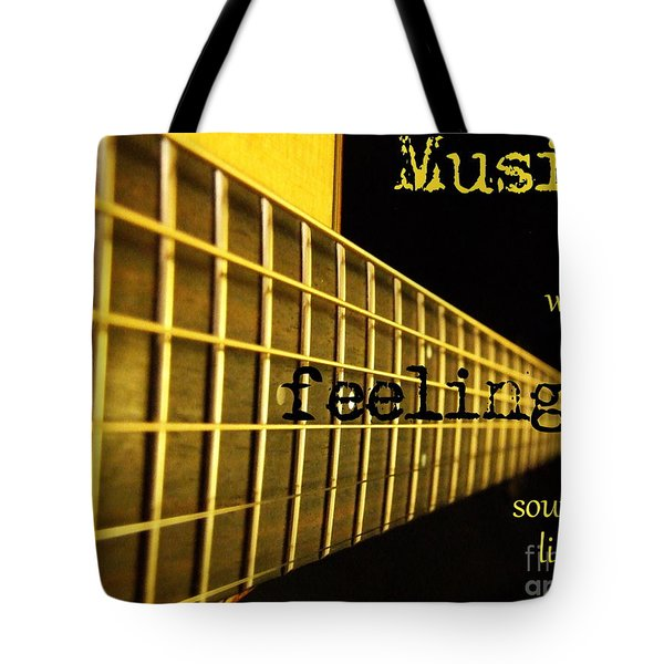 Music Is Tote Bag by Andrea Anderegg