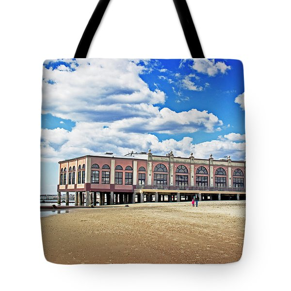 Music pier Tote Bag by Tom Gari Gallery-Three-Photography