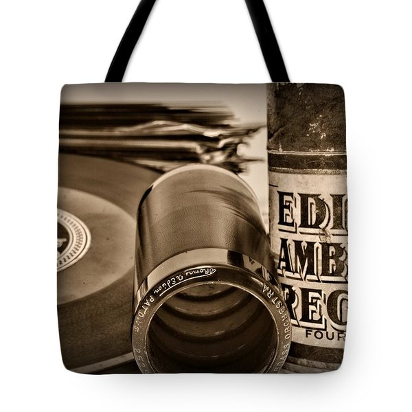 Music The beginning Tote Bag by Paul Ward