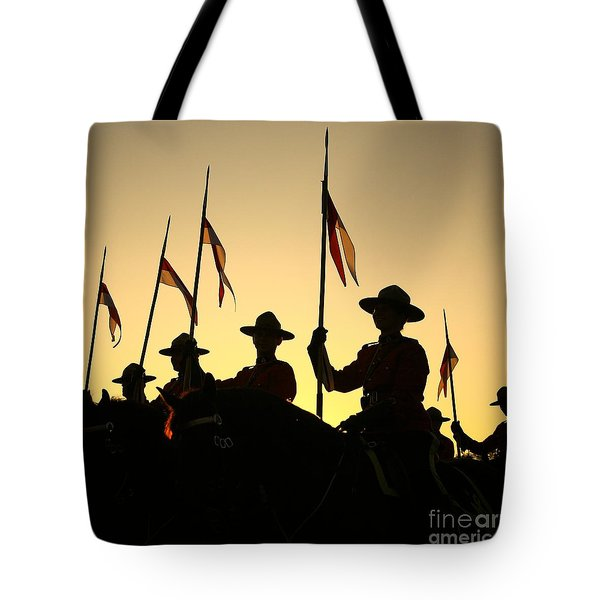 Musical Ride Tote Bag by Chris Dutton
