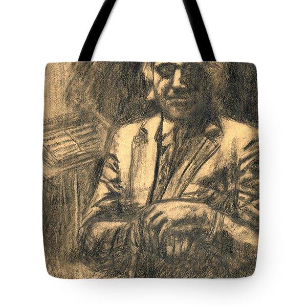 Musician Tote Bag by Kendall Kessler