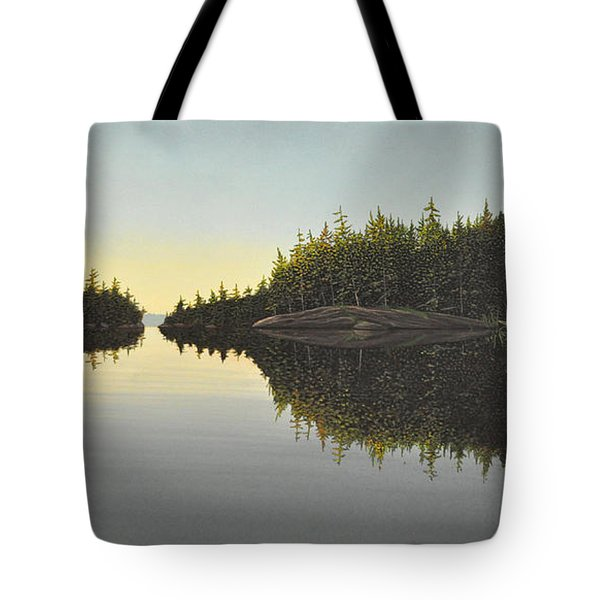 Muskoka Solitude Tote Bag by Kenneth M  Kirsch