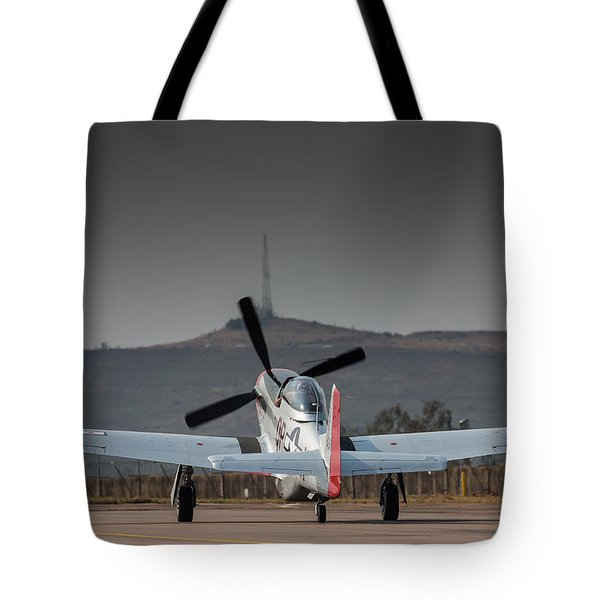 Mustang Power Tote Bag by Paul Job