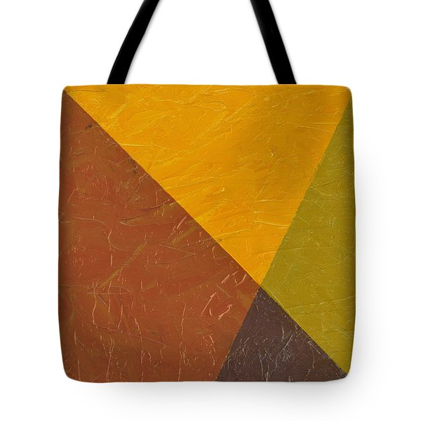 Mustard and Pickle Tote Bag by Michelle Calkins