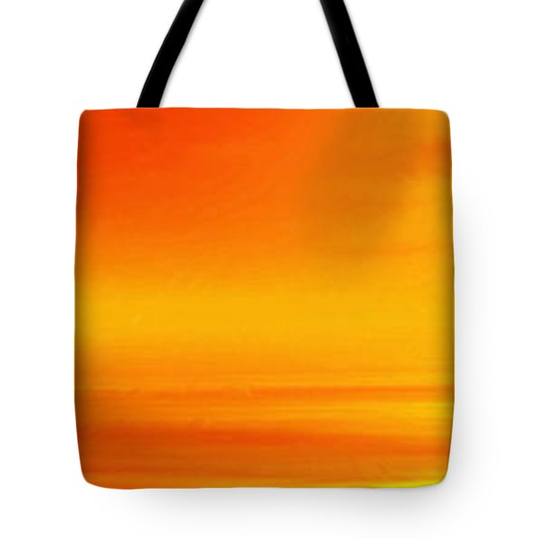 Mute Sunset Tote Bag by John Edwards