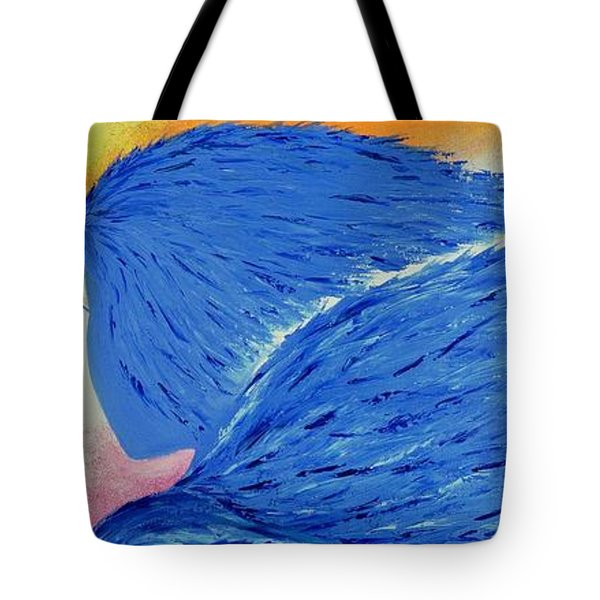 My Angel Tote Bag by Marianna Mills