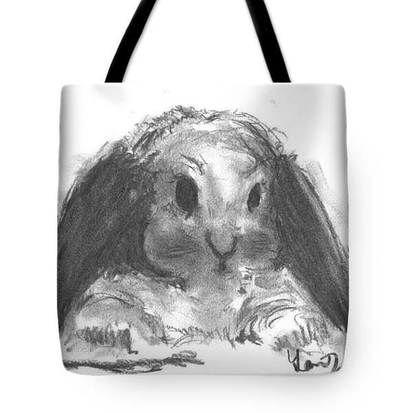 My baby bunny Tote Bag by Laurie D Lundquist