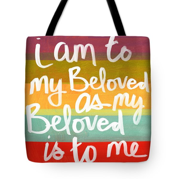 My Beloved Tote Bag by Linda Woods