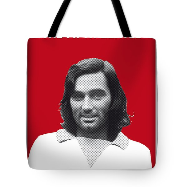 My Best Soccer Legend Poster Tote Bag by Chungkong Art