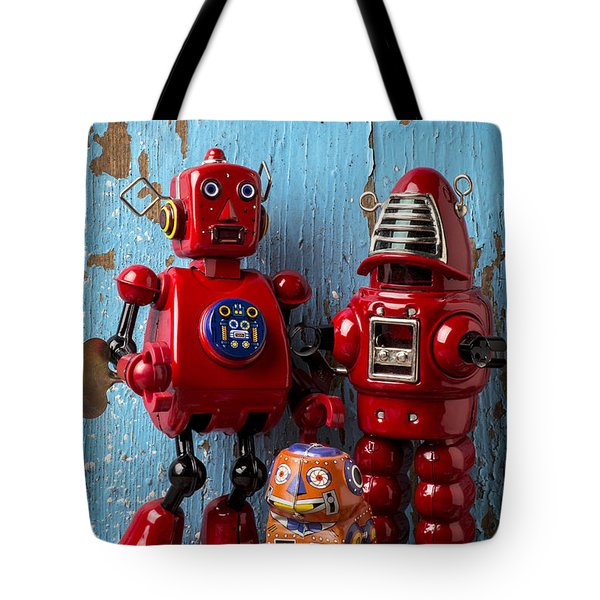 My Bots Tote Bag by Garry Gay