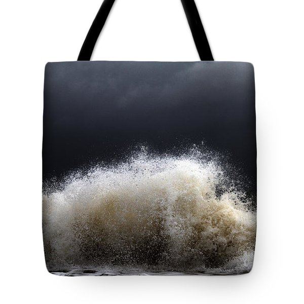 My Brighter Side Of Darkness Tote Bag by Stelios Kleanthous