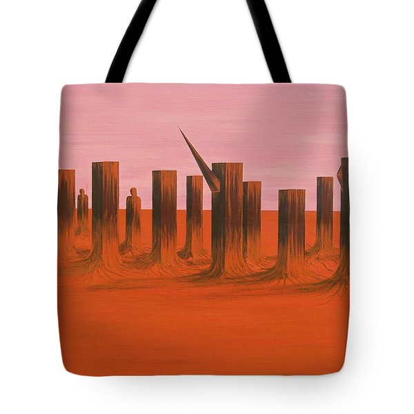 My Dreamtime 3 Tote Bag by Tim Mullaney
