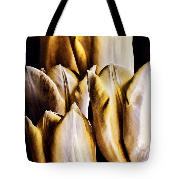 My Favorite Tulips Tote Bag by Mariola Bitner