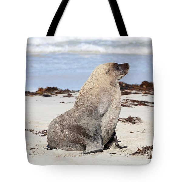 My Good Side Tote Bag by Mike Dawson