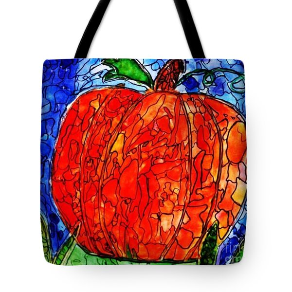 My Halloween Pumpkin Tote Bag by JAGER  age 11