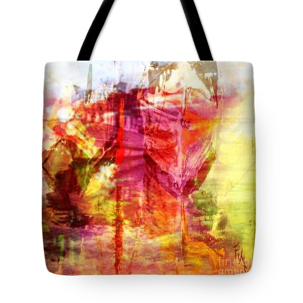 My Heart Belongs To You Ocean Tote Bag by PainterArtist FIN