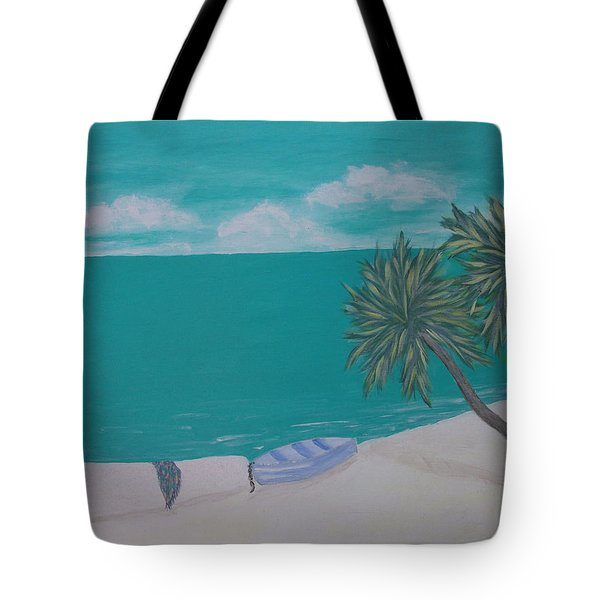 My Island Tote Bag by Inge Lewis
