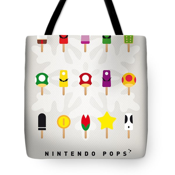 My Mario Ice Pop - Univers Tote Bag by Chungkong Art