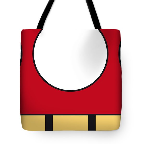My Mariobros Fig 05a Minimal Poster Tote Bag by Chungkong Art