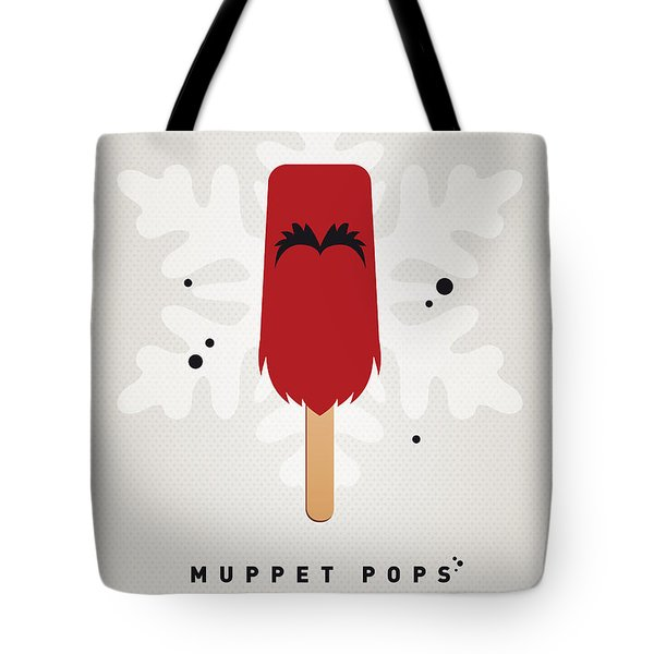 My Muppet Ice Pop - Animal Tote Bag by Chungkong Art