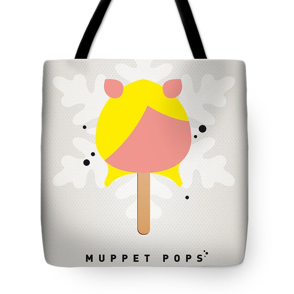 My Muppet Ice Pop - Miss Piggy Tote Bag by Chungkong Art