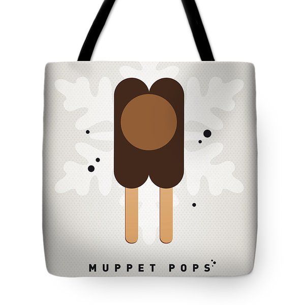 My MUPPET ICE POP - Rowlf Tote Bag by Chungkong Art
