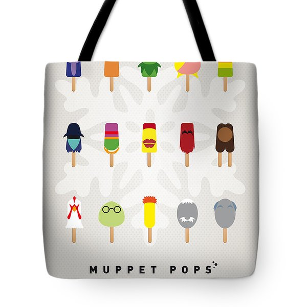 My MUPPET ICE POP - UNIVERS Tote Bag by Chungkong Art