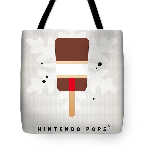 My Nintendo Ice Pop - Donkey Kong Tote Bag by Chungkong Art