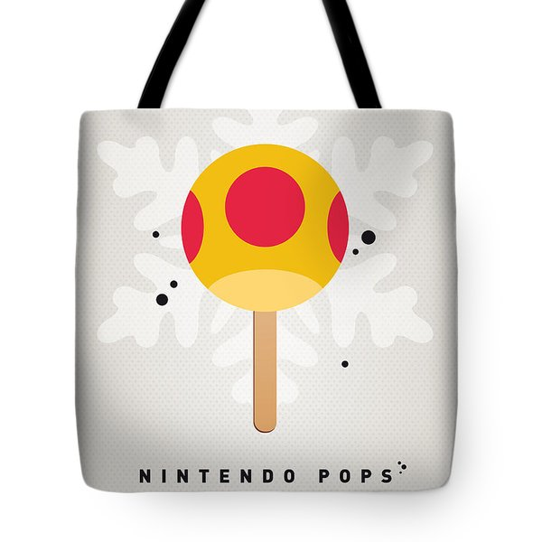 My Nintendo Ice Pop - Mega Mushroom Tote Bag by Chungkong Art