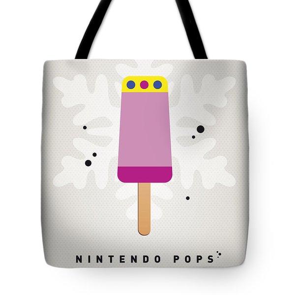My Nintendo Ice Pop - Princess Peach Tote Bag by Chungkong Art
