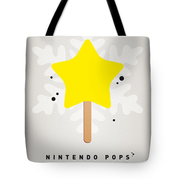 My Nintendo Ice Pop - Super Star Tote Bag by Chungkong Art