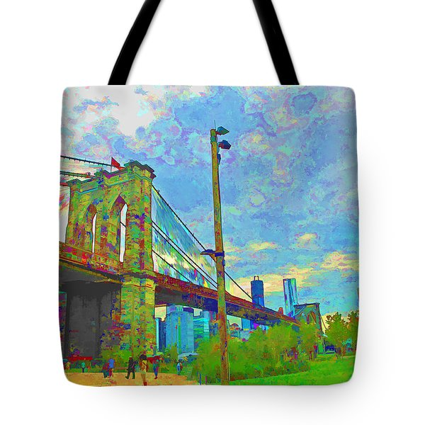 My Ny Minute Tote Bag by Barbara McDevitt