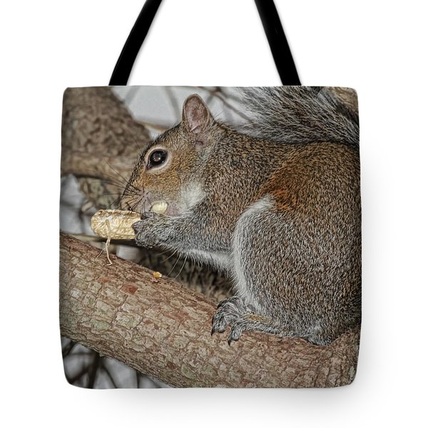 My Peanut Tote Bag by Deborah Benoit
