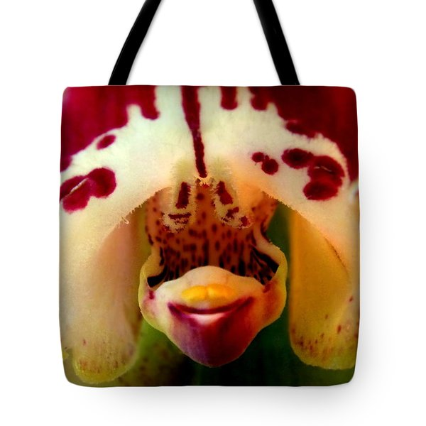 My Pet Orchid Tote Bag by Karen Wiles